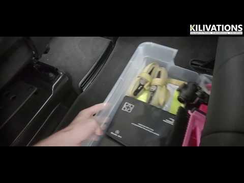 V-Klasse / Aufbewahrungsbox Rücksitzbank