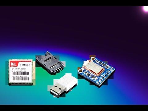 SIM808 GSM + GPRS + GPS Cellular Module ID: 2637 - $29 95