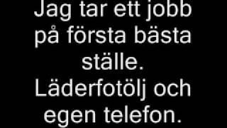 Nationalteatern - Kolla Kolla ( Lyrics )