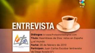 Entrevista al Pr. Juan Carlos Escobar, presidente de Asambleas de Dios en España