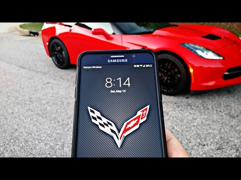 Controlling my Corvette from my PHONE! | MyChevrolet App Review