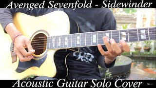 Avenged Sevenfold - Sidewinder ( Acoustic Guitar Solo Cover )