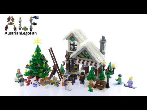 Vidéo LEGO Creator 10249 : Le magasin de jouets d'hiver