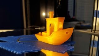 Finishing a #3DBenchy in fast forward + high res pictures at the end