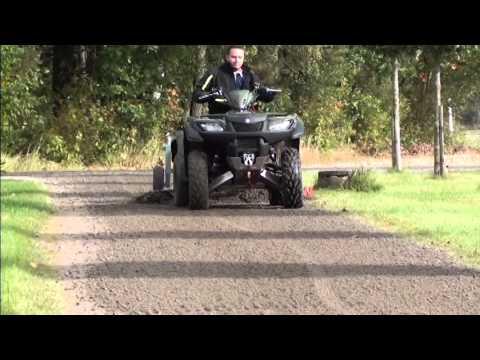 Straßenhobel Planierhobel Grader 1,80 m ATV Quad Abziehhober Planierschild