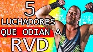 5 LUCHADORES QUE ODIAN A ROB VAN DAM *Ex-Campeón De WWE