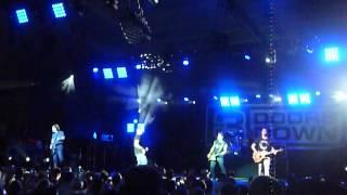 "3 Doors Down ""One Light"" Pier Six Pavilion, Baltimore, MD 7/6/13 live concert"