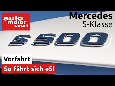 Mercedes-Benz S-Klasse (2020) So fährt sich S! Vorfahrt (Review) | auto motor und sport