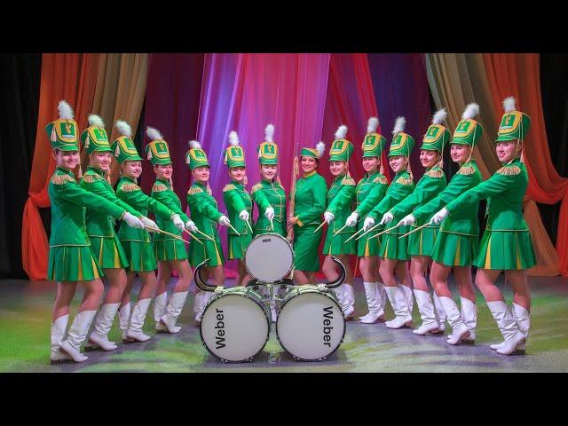 Ангарские барабанщицы – лучшие в России!