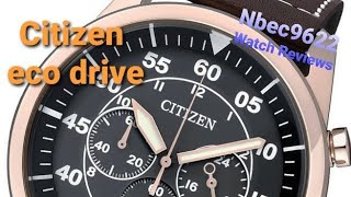 Citizen eco-drive  review by Nick Beck