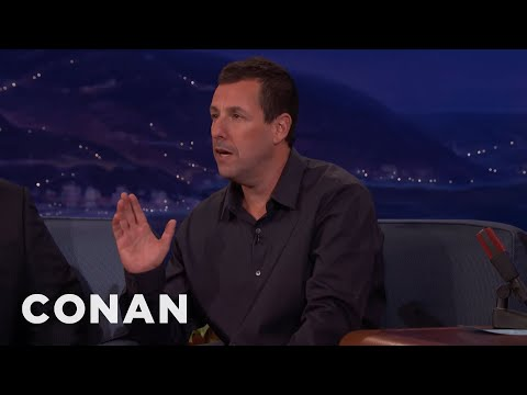 Adam Sandler Makes Fun Of His Kids' Fear Of Lakes  - CONAN on TBS