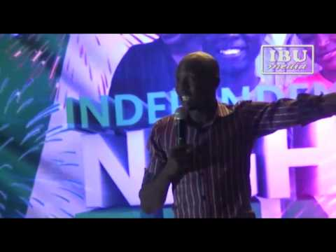 MC DIOUF COMEDIAN at INDEPENDENCE NIGHT OF FUN