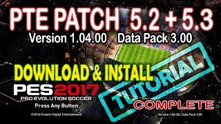 pte patch pes 2017 download