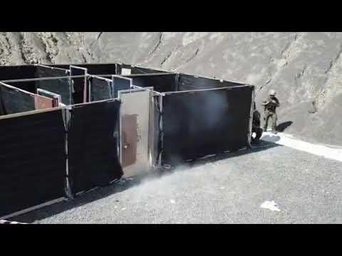 Esta es la técnica breaching utilizada por la EMMOE. Vídeo: Ejército de Tierra
