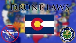 Where Can I Fly in Colorado? - Every Drone Law 2019 - Denver and Aurora (Episode 6)