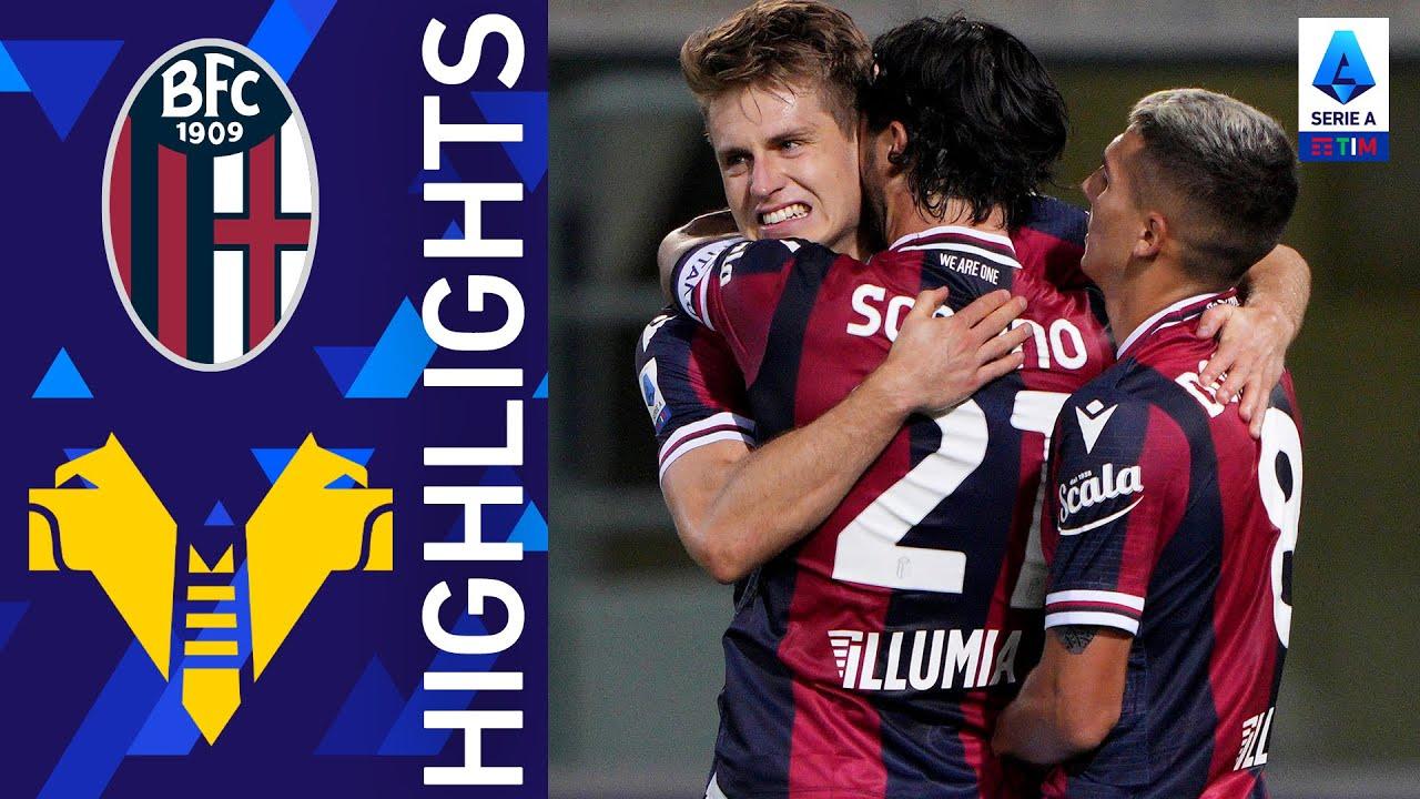 Bologna 1-0 Hellas Verona | Svanberg decide il match | Serie A TIM 2021/22