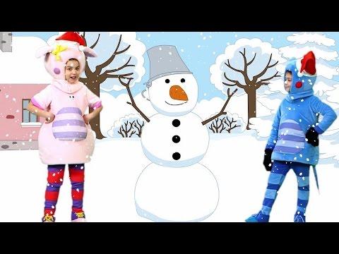 Песенки для детей - Новогодний сборник песен Кукутики праздничные веселые песни