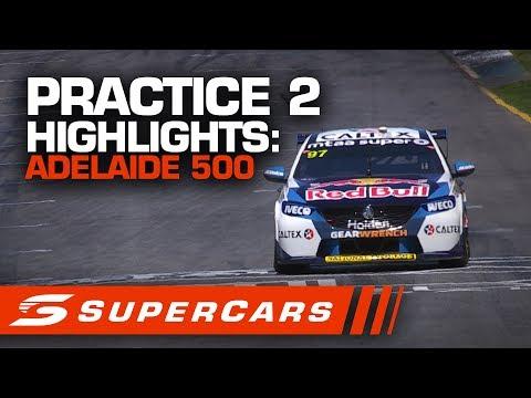 2020年SUPERCARS 第1戦 スーパーループアデレード500 プラクティス2 ハイライト動画