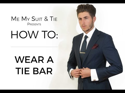 HOW TO: Wear a Tie Bar