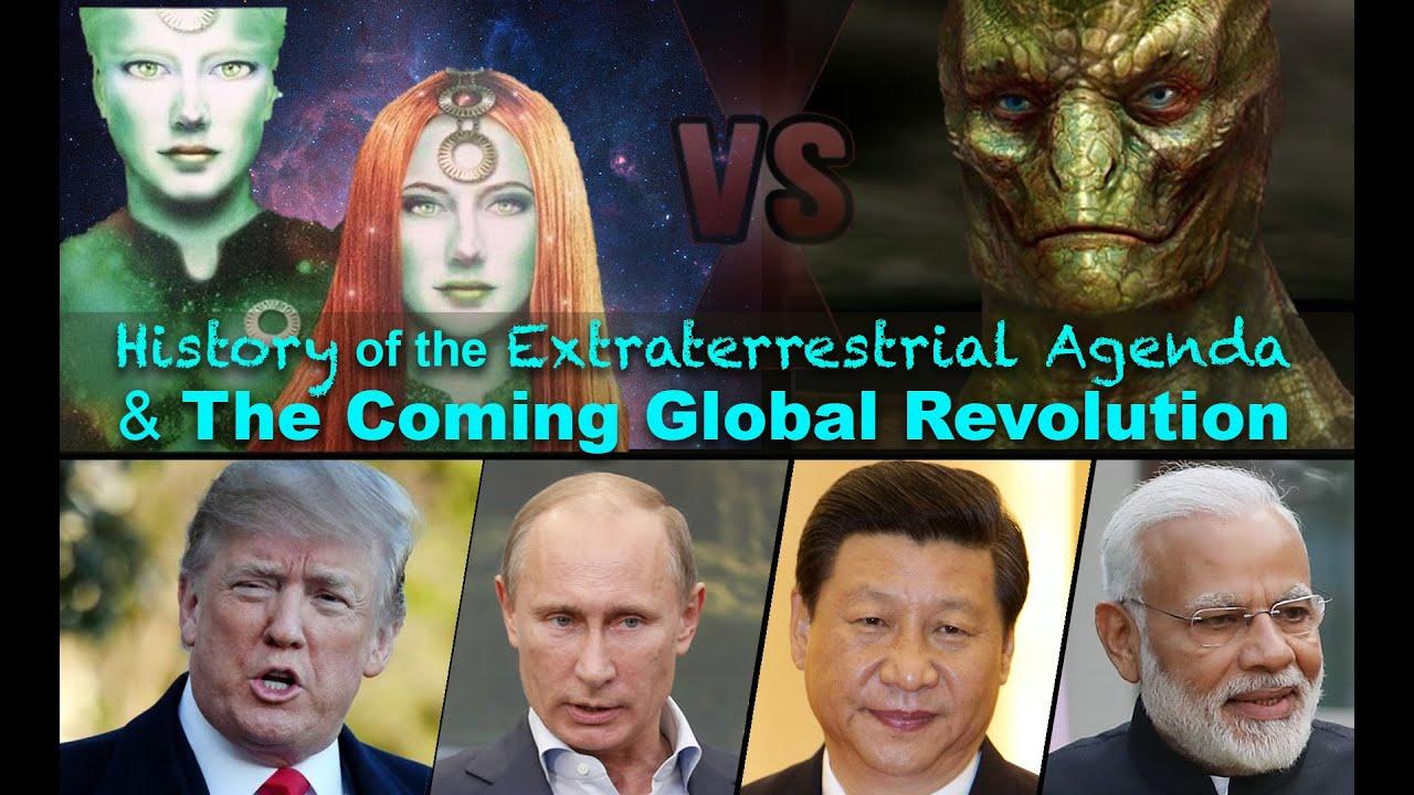 Historia de la agenda extraterrestre y la revolución global venidera