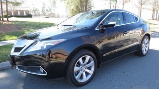 2010-2013 Acura ZDX SH-AWD Start Up, Exhaust, Drive, and In Depth Review