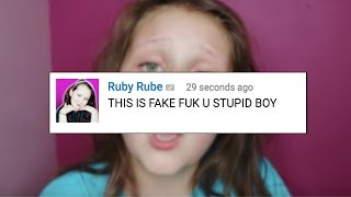READING COMMENTS FROM ANGRY RUBY RUBE FANS!