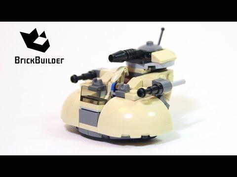 Vidéo LEGO Star Wars 75029 : AAT