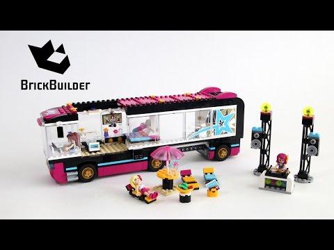 Vidéo LEGO Friends 41106 : La tournée en bus