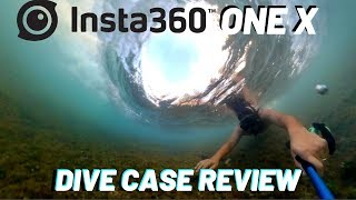 Insta360 One X is a GAME CHANGER!!! (Unboxing & Dive Case Review In Ocean)