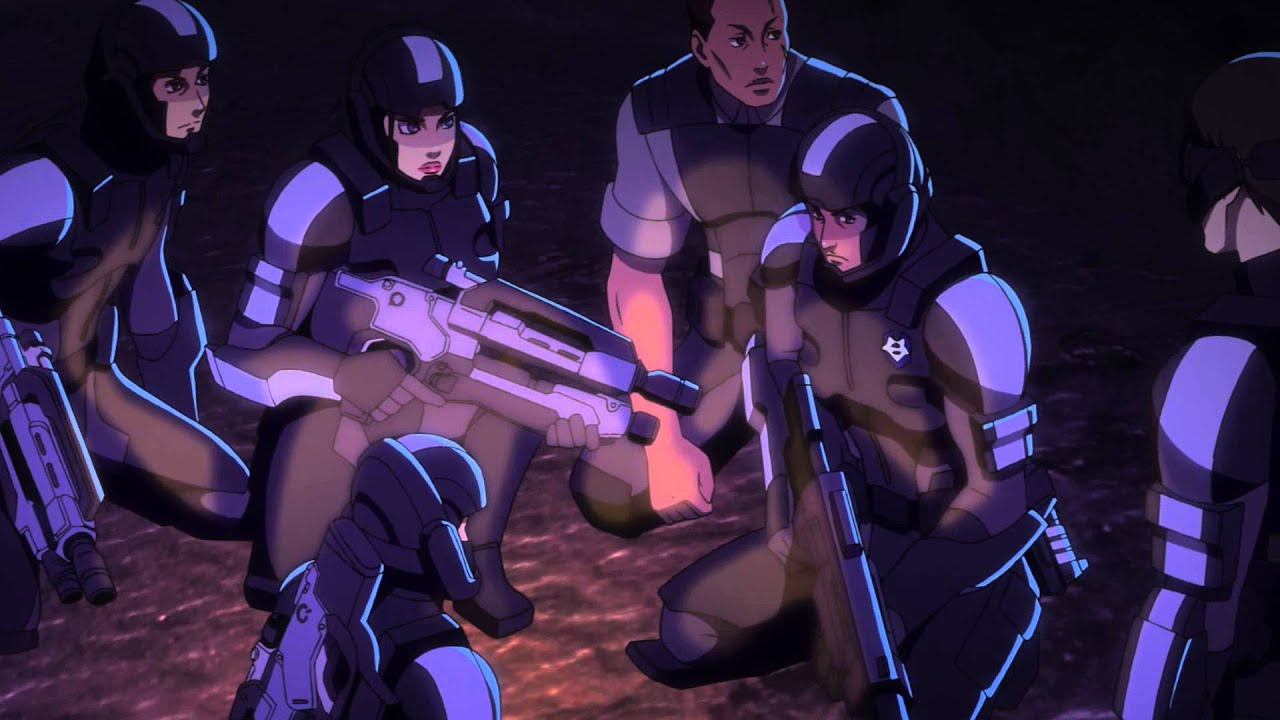 Watch Nine Minutes Of The Mass Effect Anime, Right Here