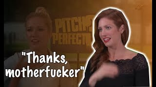Brittany Snow funny moments