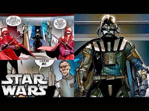 How Tarkin Met Darth Vader For the First Time and Feared Him (Canon)