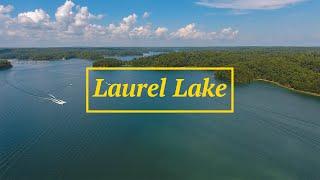 Laurel Lake, Kentucky Drone Video