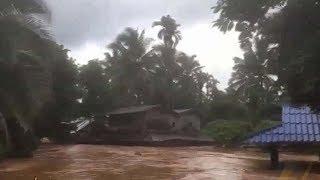 พายุ 'เซินติญ' ถล่มไทย สังขละบุรีอ่วมประกาศภัยพิบัติ - อุทยานฯ ดอยสุเทพห้ามนทท.เล่นน้ำตก