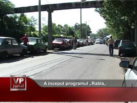 "A început programul ""Rabla"""