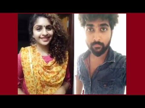 Oru Adaar Love Actress Noorin Shereef Tamil Song Dubsmash