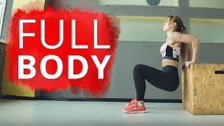 FULL BODY I Интенсивная Жиросжигающая Тренировка. Комплекс Упражнений Для Всего Тела Дома.