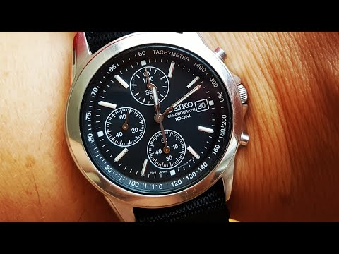 Seiko Chronograph 7T92 - SEIKO is the best value at any price point