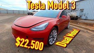 Copart Walk Around 2-8-2020 + Tesla Model 3 $22500