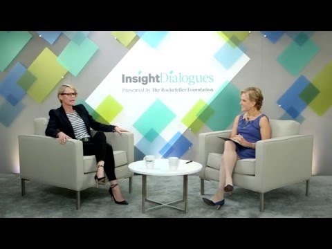 Insight Dialogues: Robin Wright on Empowering Women—The Rockefeller Foundation