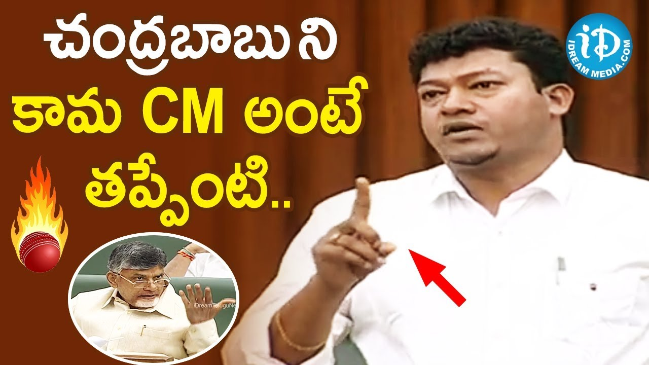 AP Assembly LIVE 2020 - Day 3 : MLA Sidiri Appalaraju Controversial Comments on Chandrababu