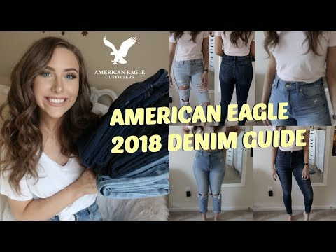American Eagle 2018 Denim Fits & Try-On | Back to School Jean Guide