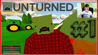 Unturned  - ВЫЖИВАНИЕ С НУЛЯ #1 УЧУСЬ ЕЗДИТЬ НА МАШИНЕ  #Unturned 3.17.12.0 Update Notes