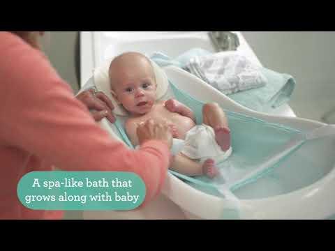 Tina Bañera Bebé De Lujo Vibraciones Relajantes Fisher Price