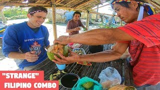 Eating In The SEAFOOD CAPITAL of the Philippines (Strange Filipino Food Combo)