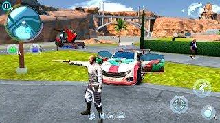 Gangstar Vegas Neon Rider With Gunner B33 Lvl10 Wanted Man