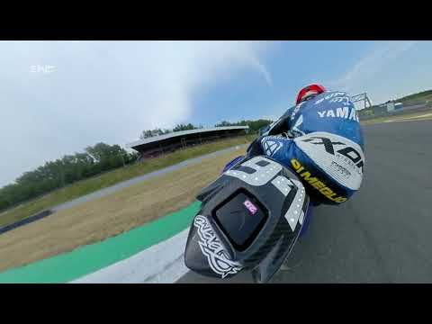 8H of Oschersleben with Dunlop - An amazing 360 on board camera with Mike di Meglio