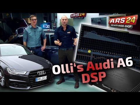 Audi A6 (4G) Competition | Helix MTK1 DSP Einstellung Audiotec Fischer | PART 8