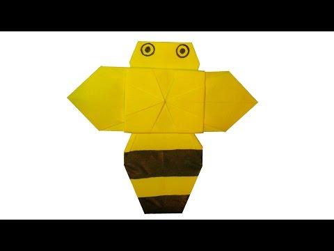 Origami Bee Instruction