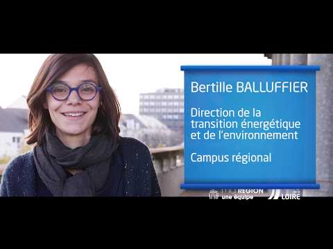 Video Ma Région, des talents : chargé de programme transition énergétique